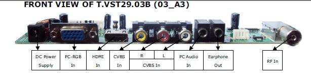 TV control boardテスト(XGA) 201401