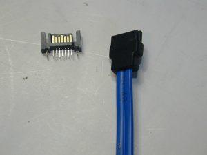 SATA変換ケーブル(加工) 201409